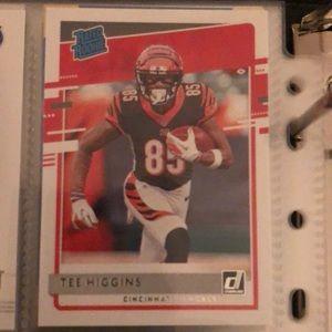 Tee Higgins Rookie Card
